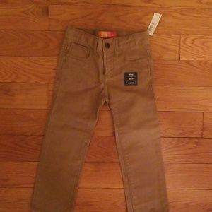 Boys Skinny 4T Jeans in Khaki